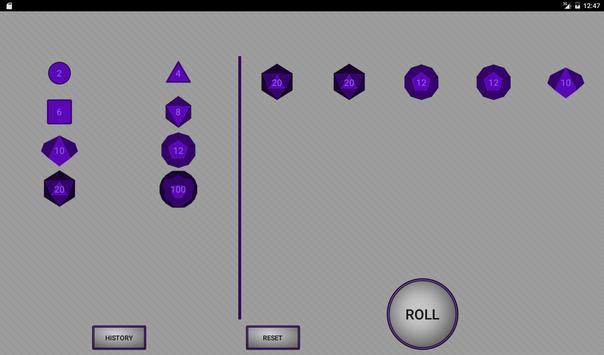 Simple RPG Dice Roller screenshot 6
