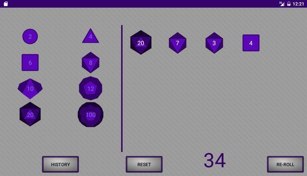 Simple RPG Dice Roller screenshot 8