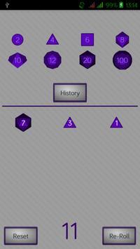 Simple RPG Dice Roller screenshot 1