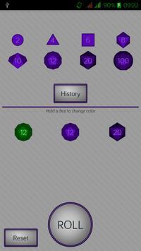 Simple RPG Dice Roller screenshot 2