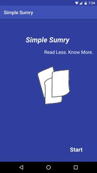 Simple Sumry poster