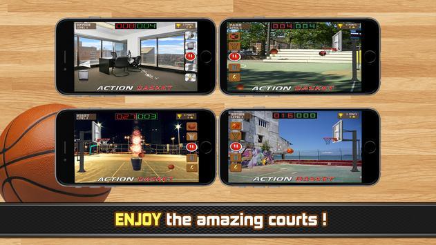 Action Basket - basketball apk screenshot