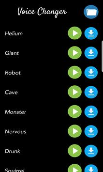 Voice Changer - Funny Simple Effects apk screenshot