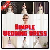 Wedding Dress Simple Ideas icon