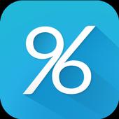 96% icon