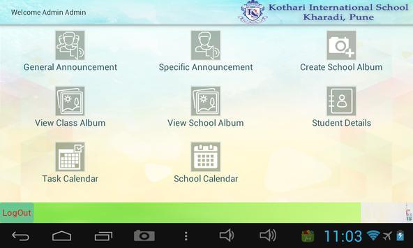 KIS School apk screenshot