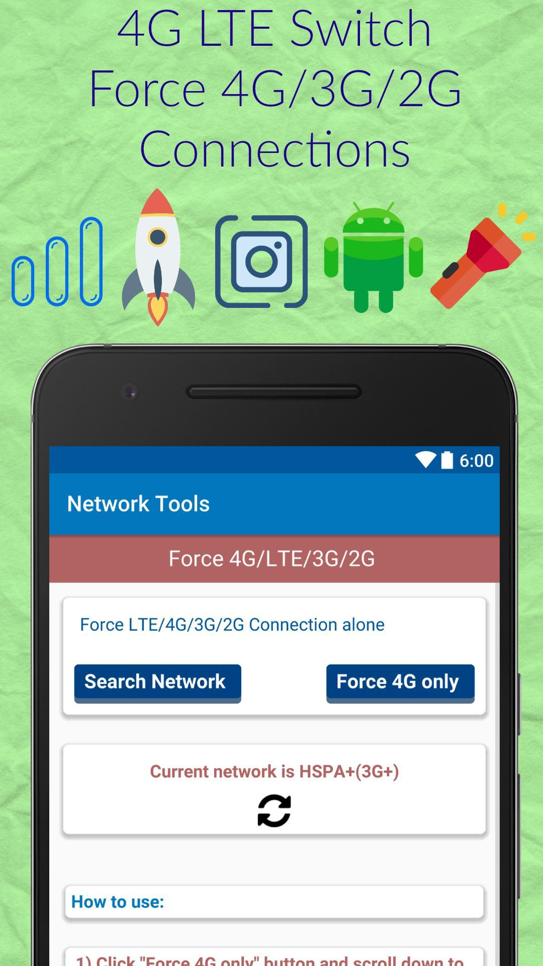 4G LTE Only Mode Switch for Android - APK Download