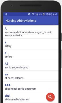 Nursing Abbreviations For Android