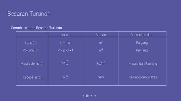 Fisika SMP : Satuan dan Pengukuran screenshot 5