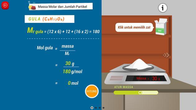 Kimia SMA : Stoikiometri screenshot 8