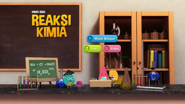 Kimia SMA : Reaksi Kimia poster