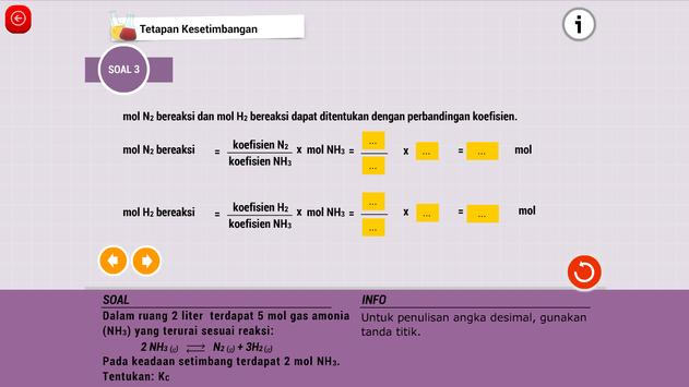Kimia SMA : Reaksi Kimia screenshot 4