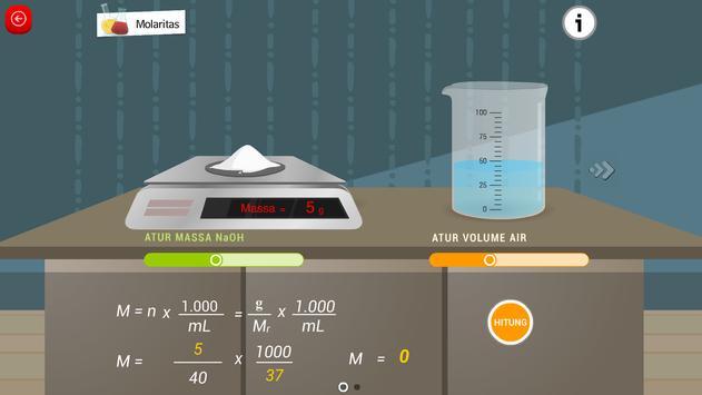 Kimia SMA : Reaksi Kimia screenshot 8
