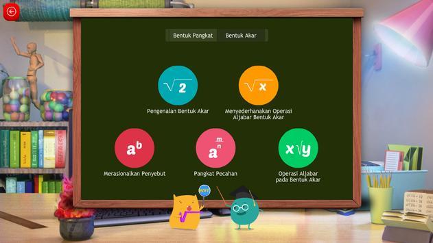 Matematika SMA : Akar dan Pangkat screenshot 1