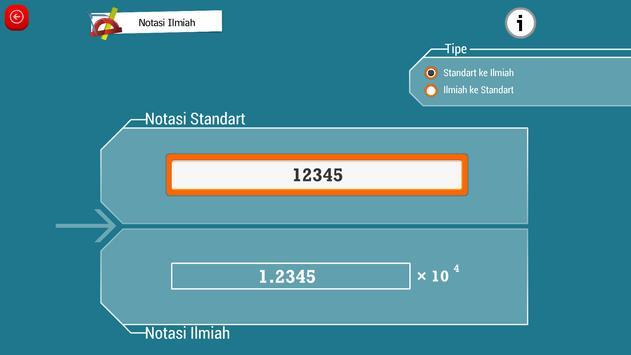 Matematika SMA : Akar dan Pangkat screenshot 5