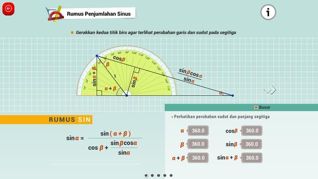 Matematika SMA : Logaritma dan Trigonometri screenshot 5
