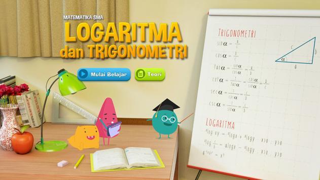 Matematika SMA : Logaritma dan Trigonometri poster