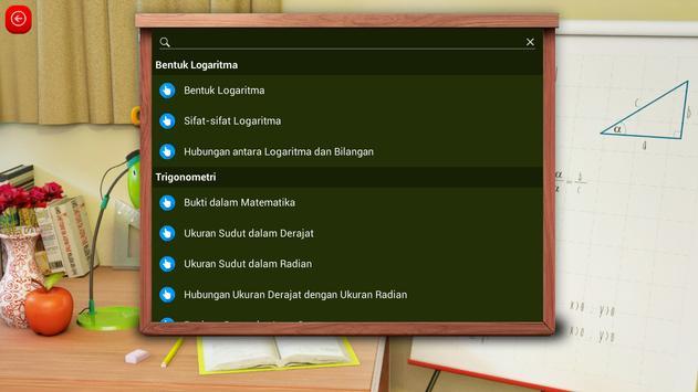 Matematika SMA : Logaritma dan Trigonometri screenshot 2