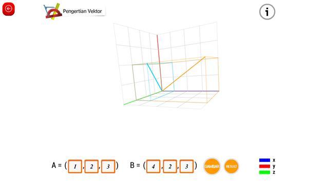 Matematika SMA : Vektor dan Transformasi screenshot 8