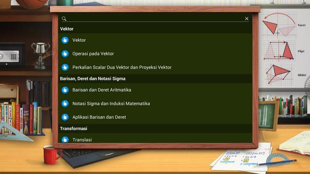 Matematika SMA : Vektor dan Transformasi screenshot 2