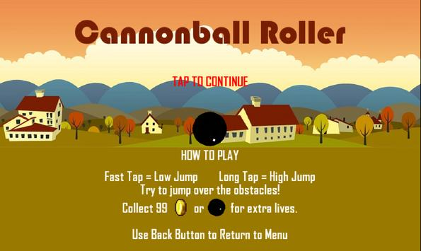 Cannonball Roller 1 poster