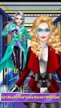 Super Spy Girl Makeover Salon poster
