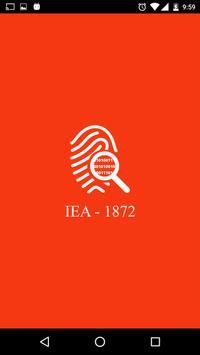 IEA - Indian Evidence Act 1872 पोस्टर