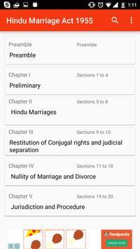Hindu Marriage Act 1955 स्क्रीनशॉट 1