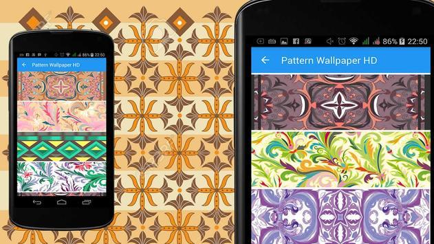 Batik Pattern Wallpaper HD poster
