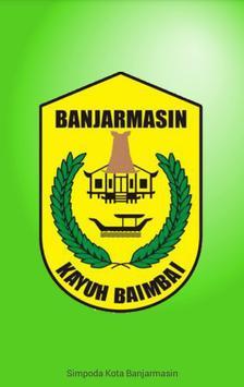Simpoda Kota Banjarmasin poster