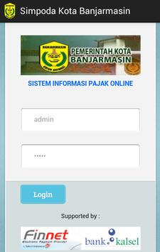 Simpoda Kota Banjarmasin apk screenshot