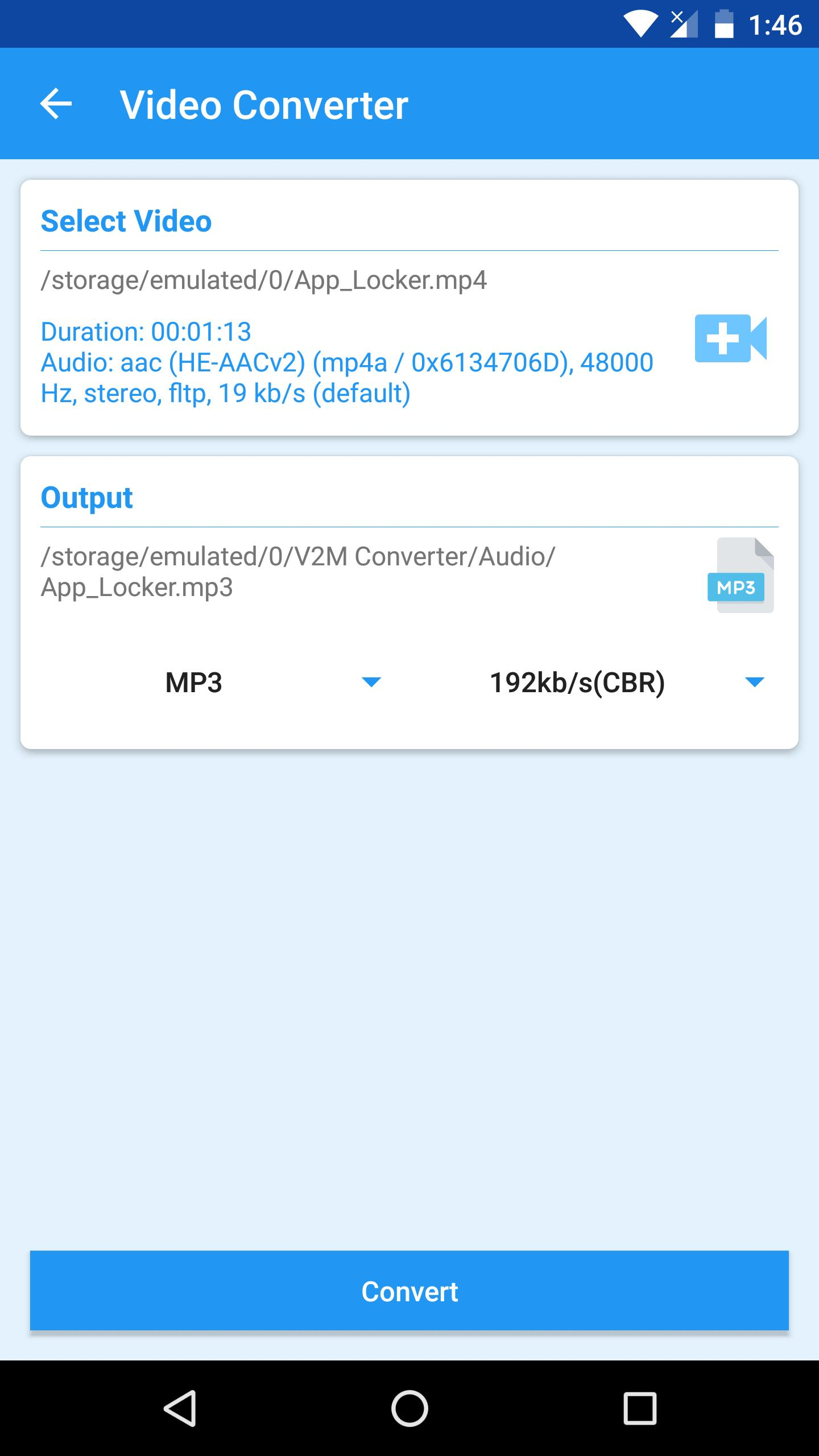 Video to MP3 Converter: 3GP, Flv & Mp4 to Audio for Android