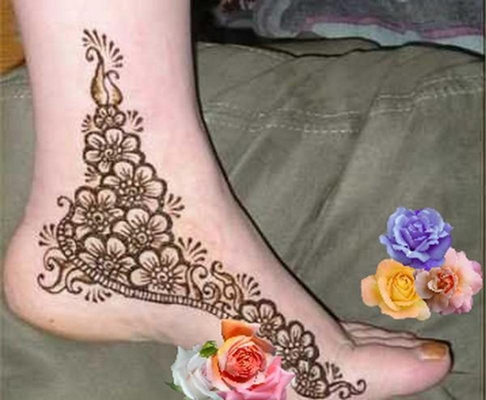 Mehndi Foot Designs : Foot mehndi designs apk download free photography app for android