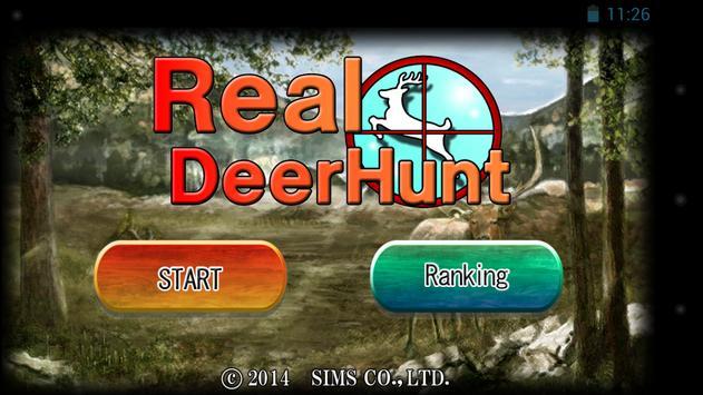RealDeerHunt poster