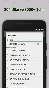 Namaz Vakitleri screenshot 1