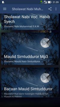 Sholawat Maulid Prophet Muhammed Choosen apk screenshot