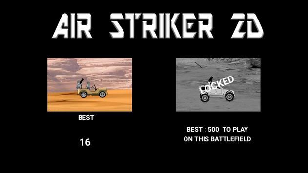 Air Striker 2D poster