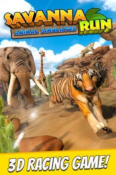 Savanna Run - Animal Simulator poster