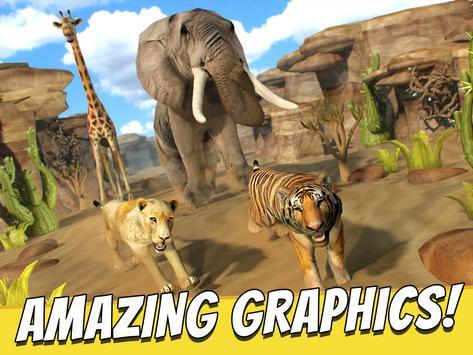 Savanna Run - Animal Simulator screenshot 6