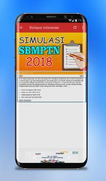 Simulasi SBMPTN 2019 screenshot 1