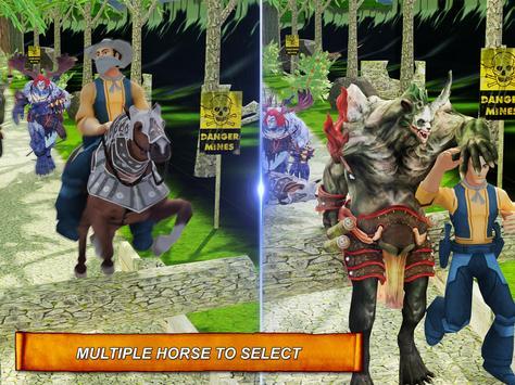 Stable Horse Run Temple Escape apk screenshot
