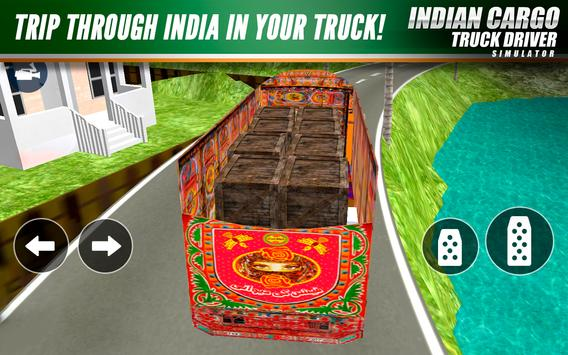 Indian Cargo Truck Driver Simulator poster