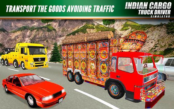 Indian Cargo Truck Driver Simulator screenshot 4