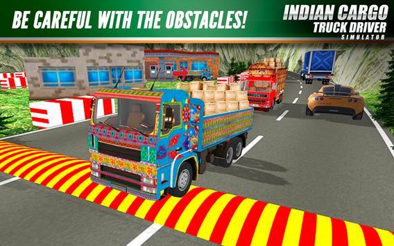 Indian Cargo Truck Driver Simulator screenshot 5