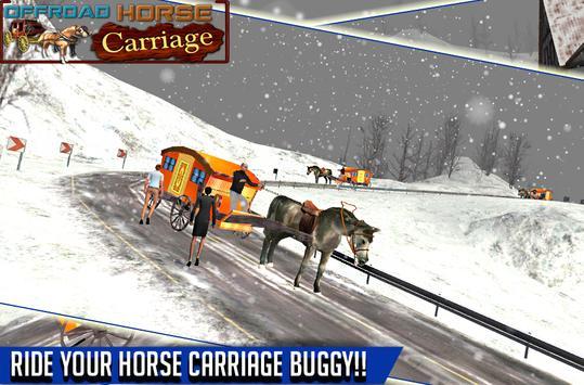 offroad horse carriage human transportation game screenshot 4