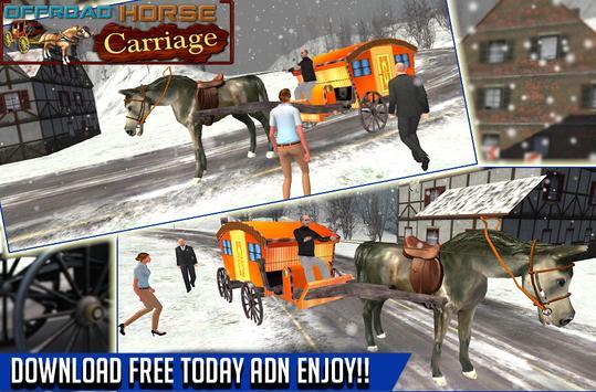 offroad horse carriage human transportation game screenshot 22