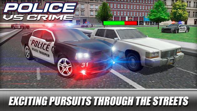 Police VS Crime poster