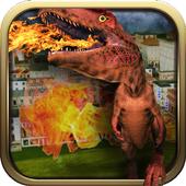 Real Dinosaur Tank Battle icon