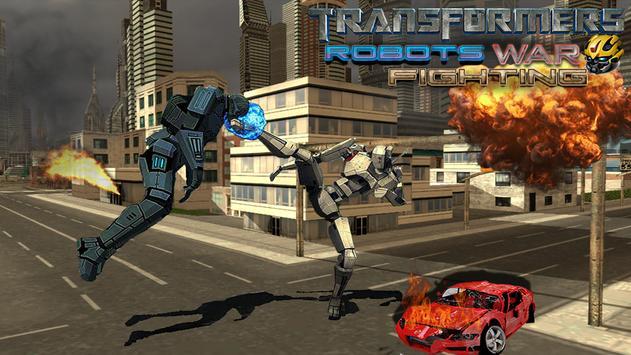 Robots War Steel Fighting 2017 poster