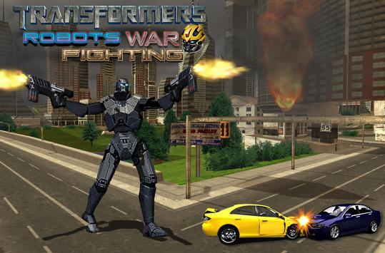 Robots War Steel Fighting 2017 apk screenshot
